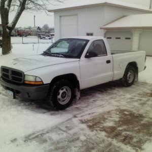 2002 Dodge Dakota SXT Purchased with 117,xxx miles. Needs a lot of TLC. Started with a full service & new tires!