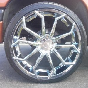 24 inch rims 2000 Dakota